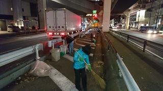 大橋ジャンクション掃除.JPG